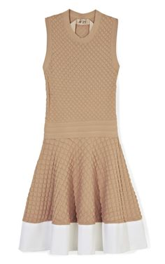 BY NO. 21  SEE DETAILS HERE:Sleeveless Pucker Knit Dress