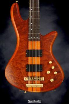 Schecter Stiletto Studio 8 - Honey Satin (guitar #w14011933) - http://www.8stringguitar.org/for-sale/schecter-stiletto-studio-8-honey-satin-guitar-w14011933/18505/