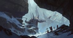 HD wallpaper: gray dragon near cave illustration, artwork, fantasy art, digital art Fantasy Artwork, Dragons, Dragon Nest, Futuristic City, Fantasy Dragon, Fantasy Kunst, Environment Concept Art, Environment Design, Fantasy Illustration