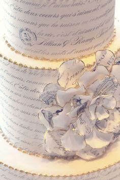 Statement Cake - Wedding look