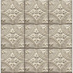 Temporary Wall Decals Tin Tiles Perfect For Backsplash