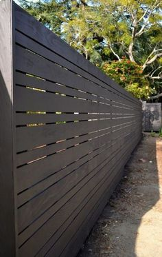 Stunning Tips: Fencing Ideas For Yard Privacy Fence Kickboard.Modern Fence Panels For Sale Wooden Fence Modern.Modern Fence Design In Nigeria. Modern Wood Fence, Wood Fence Design, Modern Fence Design, Privacy Fence Designs, Privacy Fences, Privacy Screens, Metal Fence, Modern Fence Panels, Wood Fence Gates