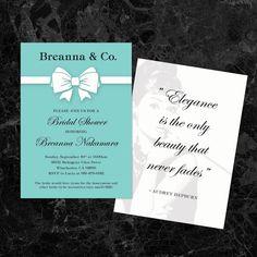 Tiffany Invitation Template | TB\'s mom bday | Pinterest | Tiffany ...