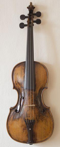 Mozart's Childhood Violin