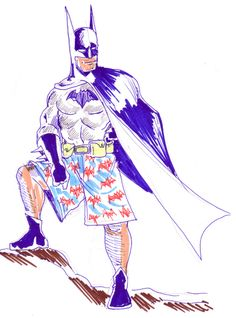 Batman in culottes