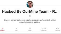 TechJunior: Facebook CEO Mark Zuckerberg's Twitter, Pinterest accounts hacked by OurMine group