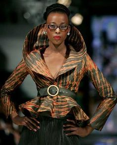 Work it! ~African Prints, African women dresses, African fashion styles, African clothing, Nigerian style, Ghanaian fashion
