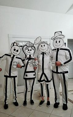 STICK PEOPLE COSTUMES