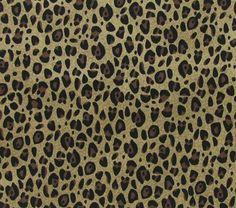 Cheetah Fabric with Brown & Black Leopard by karensbedandbath