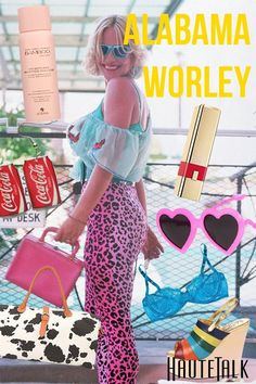 Fashion from Fiction, inspired by Alabama Whitman/Worley in TRUE ROMANCE