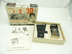 Vintage Robins 3D Instant Stereo Attachment Viewer for Polaroid Cameras | eBay
