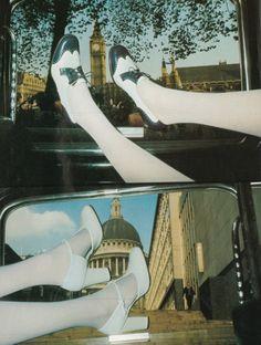 "bosconos:  ""Co-respondent course for summer"" in Vogue UK april 1974 Steve Hiett."