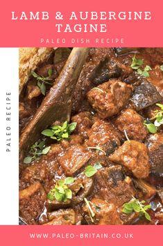 Lamb & Aubergine Tagine  #Paleo #recipe #food #paleodish #LambandAubergineTagine #keto #diet