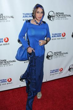 Alexis Arquette attends the Indian Film Festival of Los Angeles opening night gala at ArcLight Cinemas on April 8, 2014 in Hollywood