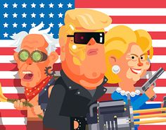 Election Warz - Politics is just a game!