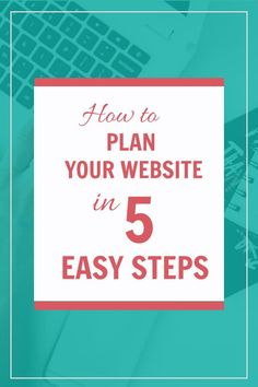 Thinking about building your own website? The Website Strategy Blueprint teaches you how to plan your website in just 5 easy steps.