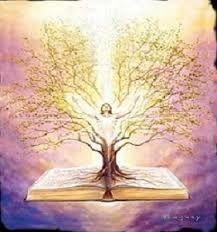 Tree of Life prophetic art painting, word of God speak. Reiki, New Age, Chakras, Tree Of Life Art, Jesus Christ Images, Prophetic Art, Akashic Records, Celtic Tree, Love And Light