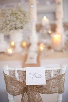 Chair Wedding Decor Signage | Weddingomania