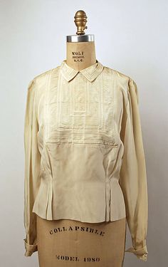 House of Lanvin | Blouse | French | The Met