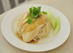Chicken rice, a signature Singaporean dish. More on Singapore heritage at http://www.straitstimes.com/singapore-heritage  Photo: Dios Vincoy Jr for The Straits Times