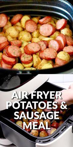Air Fryer Oven Recipes, Air Frier Recipes, Air Fryer Dinner Recipes, Air Fryer Recipes Videos, Cooking Recipes, Healthy Recipes, Easy To Cook Recipes, Easy Dinner Meals Healthy, Good Easy Dinner Recipes