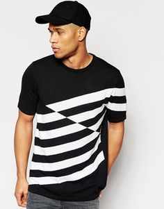 ASOS Knitted Tshirt in Boxy Fit