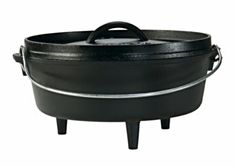 Cast iron cookware Lodge Dutch Oven Camping cookware