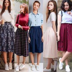Hoje nossas inspirações são de looks confortáveis e fashionistas! Quem usaria?? Fonte das imagens: Pinterest e Instagram
