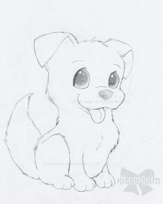 cutedrawings Cute Puppies Drawings ART Pinterest