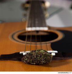 Guitar & Weed #cannabis #marijuana #weed #acoustic #guitar