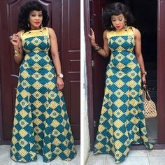 Stylish ideas for latest african fashion look 703 African Dresses For Women, African Print Dresses, African Attire, African Fashion Dresses, African Wear, African Women, African Prints, African Style, African Inspired Fashion