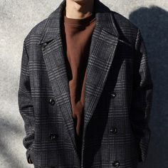 Mens Fashion Sweaters, Male Fashion, Men's Style, Suit Jacket, Characters, Street Style, Coat, How To Wear, Jackets