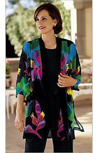 Great Value! Hand-painted Silk Kimono
