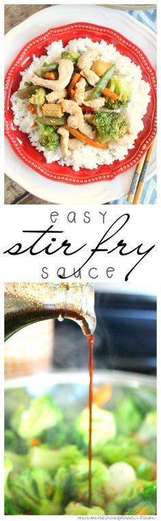 Easy Three Ingredient Stir Fry Sauce