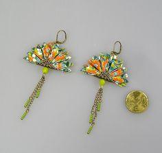 Le produit Boucles d'oreille PAON origami en papier japonais bleu pétrole est vendu par Terredepassion dans notre boutique Tictail. Tictail vous permet de créer gratuitement en ligne un shop de toute beauté sur tictail.com