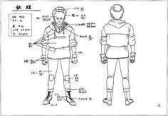The Dork Review: Akira Model Sheets