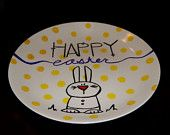 Decorative Easter Plate $10.95 on Etsy at Sweet Louise Designs