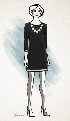 Coco, dress design for The Legend Chanel exhibition in Gemeentemuseum The Hague