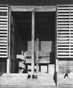Town Hall & Cultural Center, Koto District, Tokyo (1965) Architects: Takeo Sato & Associates