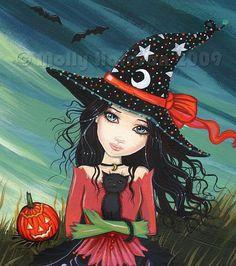 molly harrison halloween art   Molly Harrison