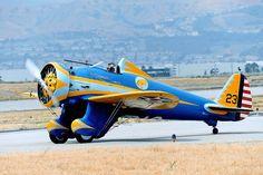 "Boeing P-26A""Peashooter"" N3378G/33-123 /  2013/5 CHINOで撮影"