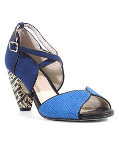 Chelsea Crew Blue & Navy Nelly Sandal | zulily