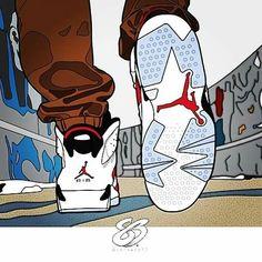 Air Jordan 6s one of my favorites