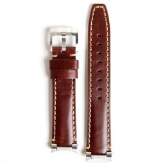 Everest Steel End Link Leather Strap System for the Rolex Explorer II