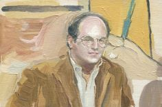Oil paintings of 'Seinfeld' reruns | Dangerous Minds