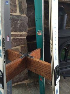 Ultimate ski free standing coat rack Free by Woodartbythegis