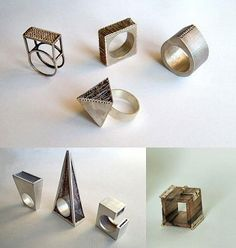 TheCarrotbox.com modern jewellery blog : obsessed with rings // feed your fingers!: Grażyny Zalewskiej /