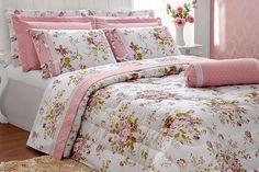 c052bc380b Capriche na decoração do seu quarto com essa belísima Colcha Edredom Casal  Queen Passione - 06