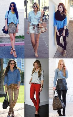 Peça Coringa: Camisa Jeans **