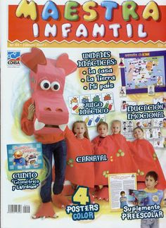 Revista Infantil Nº44 - Srta Lalyta - Álbuns Web Picasa                                                                                                                                                                                 Más